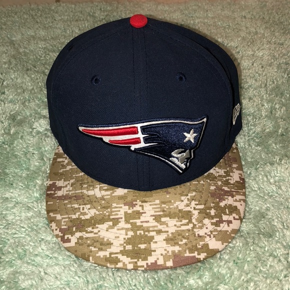 1b4999b68db patriots salute to service fitted hat. M 5a936b6636b9de867673e973. Other  Accessories ...